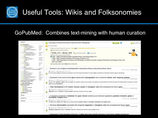 Useful Tools: Wikis and Folksonomies