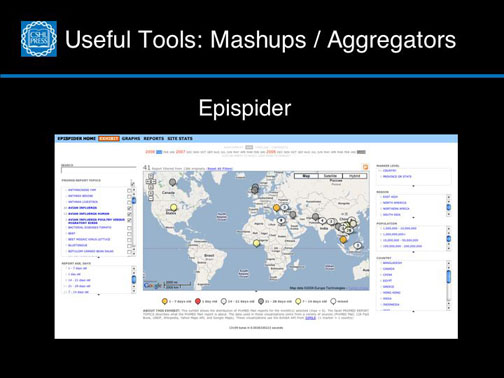 Useful Tools: Mashups / Aggregators